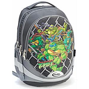 Школьный рюкзак – ранец Modan Ninja Turtles черный