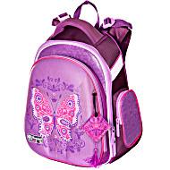 Ранец Hummingbird KIDS TK11 Butterfly с мешком для обуви + пенал в подарок